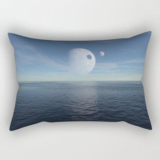 Alien morning Rectangular Pillow