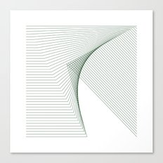 #266 Fault – Geometry Daily Canvas Print