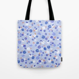 Lilypads and Frogs Tote Bag