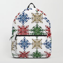 Primary colors pattern design Backpack