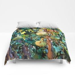 Gourds After John Singer Sargent Comforters