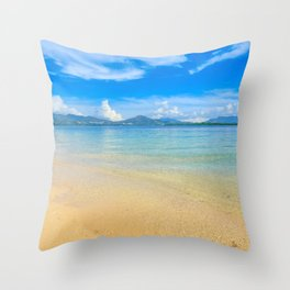 Cowrie Island Throw Pillow