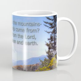 My help comes from the Lord Coffee Mug