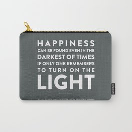 Light - Quotable Series Carry-All Pouch