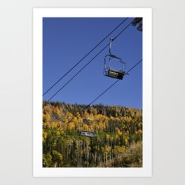 Autumn I - Brian_Head Ski_Resort, Utah Art Print