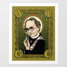 St. Mendel Art Print
