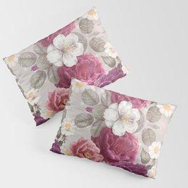 Cosmic Flowers I Pillow Sham