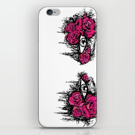 If I Could hide your eyes  iPhone Skin