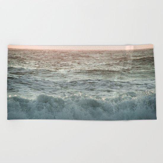 Fall in Love Beach Towel