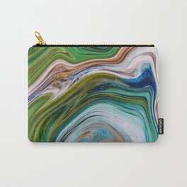 Colored Swirls 02 Carry-All Pouch