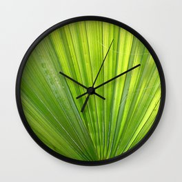Fan of Nature Wall Clock