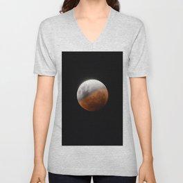 Moon - 31 January 2018 Unisex V-Neck