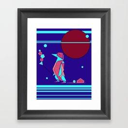 Penguin Time Framed Art Print