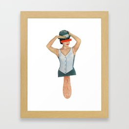 Ice Lolly Framed Art Print