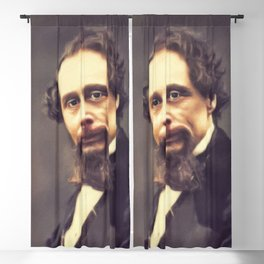 Charles Dickens, Literary Legend Blackout Curtain