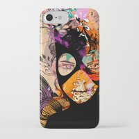 superheroes iPhone & iPod Cases featuring Superheroes SF by Irmak Akcadogan