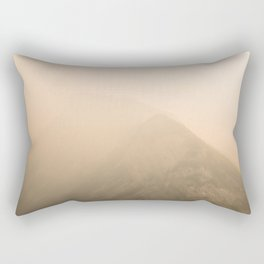 Smokey Mt. Rundle Rectangular Pillow