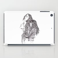 girls iPad Cases featuring Girls by Otermink
