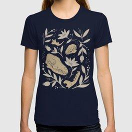Forest Floor - Gold T-shirt