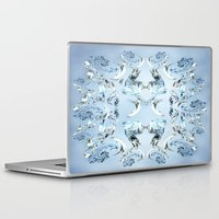 crystals Laptop & iPad Skins featuring Crystals by Armin