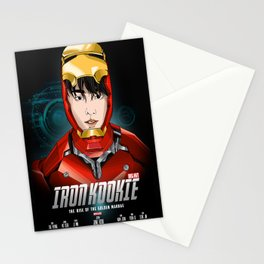 IRON KOOKIE - The rise of the Golden Maknae  Stationery Cards