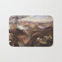 Grand Canyon of the Colorado River by Thomas Moran Bath Mat