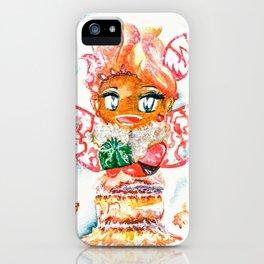 Mochi-Yuki Tiramisu - Food and Chibi iPhone Case