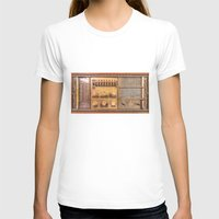 transistor T-shirts featuring Vintage Wall Radio by jculver