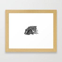 THE OCEAN Framed Art Print