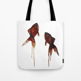 goldfish twilight Tote Bag