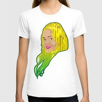 jamaica T-shirts featuring Jamaica Girl by Theophilus Marks