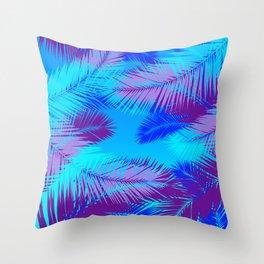 Tropic island Throw Pillow