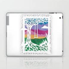 Sunset Swing Papercut Laptop & iPad Skin
