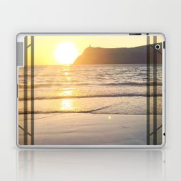 Port Erin - square diamond graphic Laptop & iPad Skin