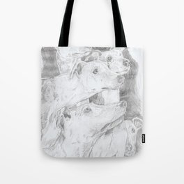 Shadow Dogs Tote Bag