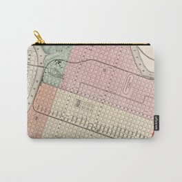 Vintage Map of Sacramento CA (1873) Carry-All Pouch