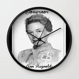 Ann Reynolds Wall Clock
