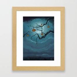 Halloween Tree Framed Art Print