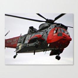 Sea King Rescue Canvas Print