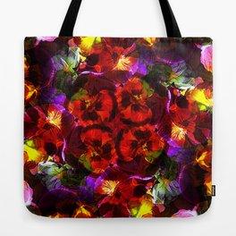 Flower Kaleidoscope  Tote Bag