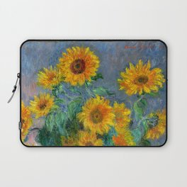 Bouquet of Sunflowers - Claude Monet Laptop Sleeve