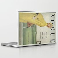 vogue Laptop & iPad Skins featuring VOGUE 1950 by SUNLIGHT STUDIOS  Monika Strigel