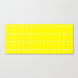 Banana mood grid Canvas Print