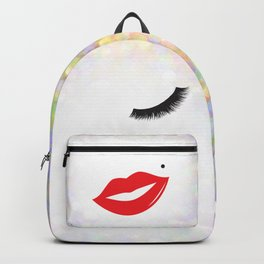 Lips & Lashes Backpack