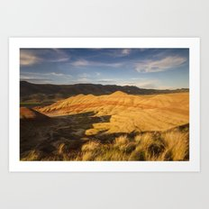 Return to the Painted Hills Art Print