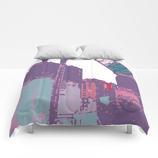 NY#3 (Lost Time) Comforters
