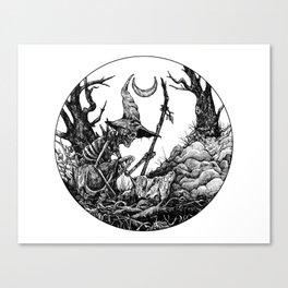 Witchery Canvas Print