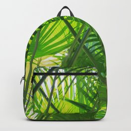 Sunny Tropical Palms 2 Backpack
