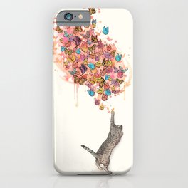 catching butterflies iPhone Case