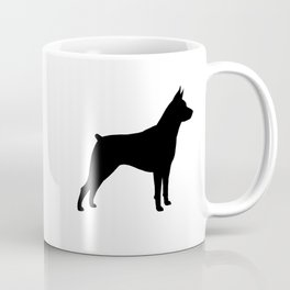 Miniature Pinscher Silhouette Coffee Mug